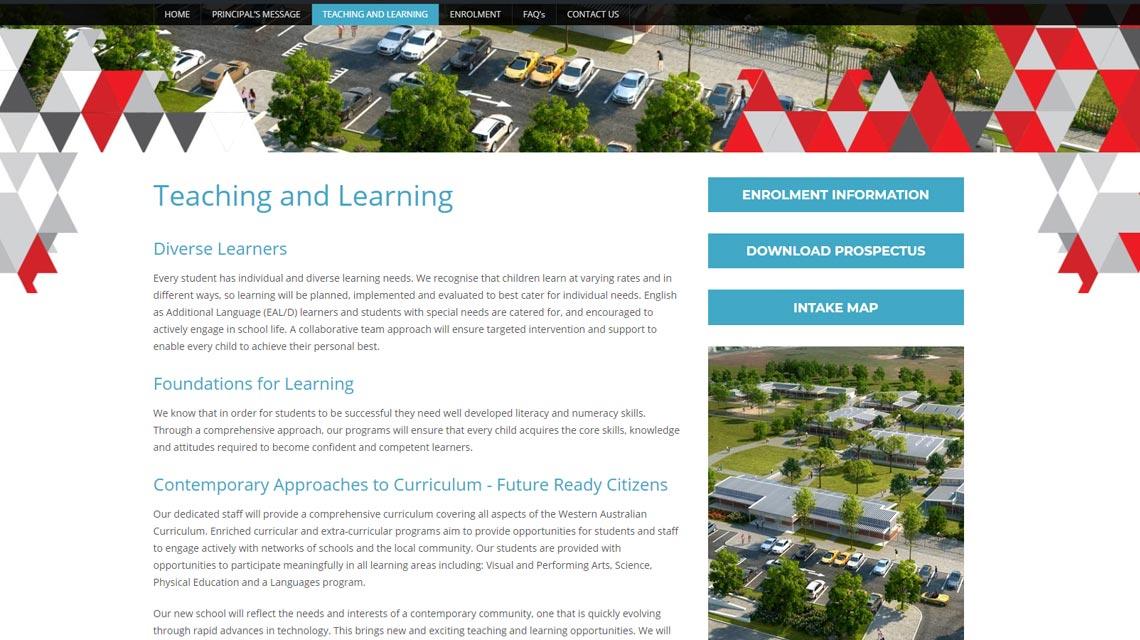 Brabham Primary School Website