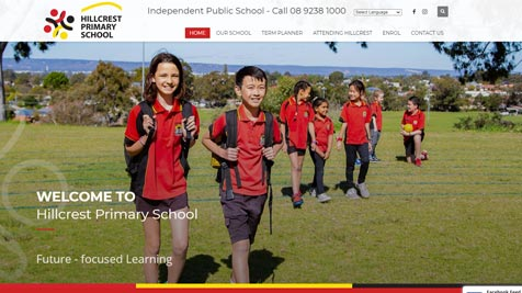 SCHOOL WEBSITE DESIGN PERTH