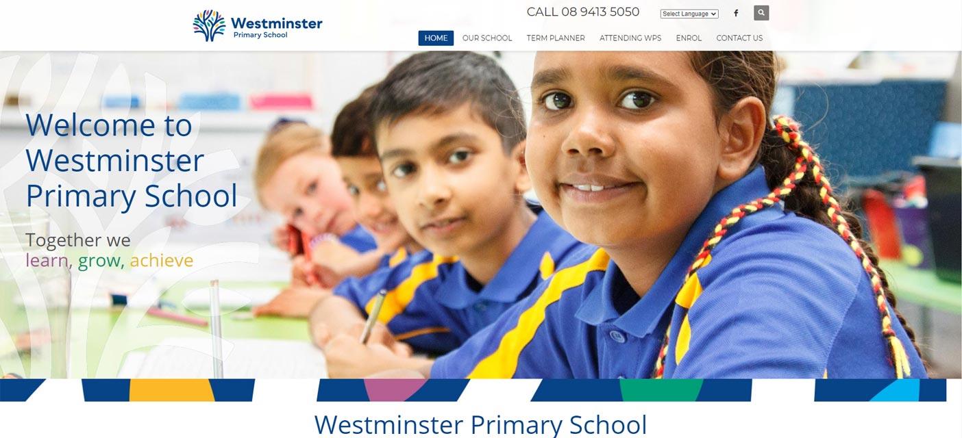 westminster primary school website